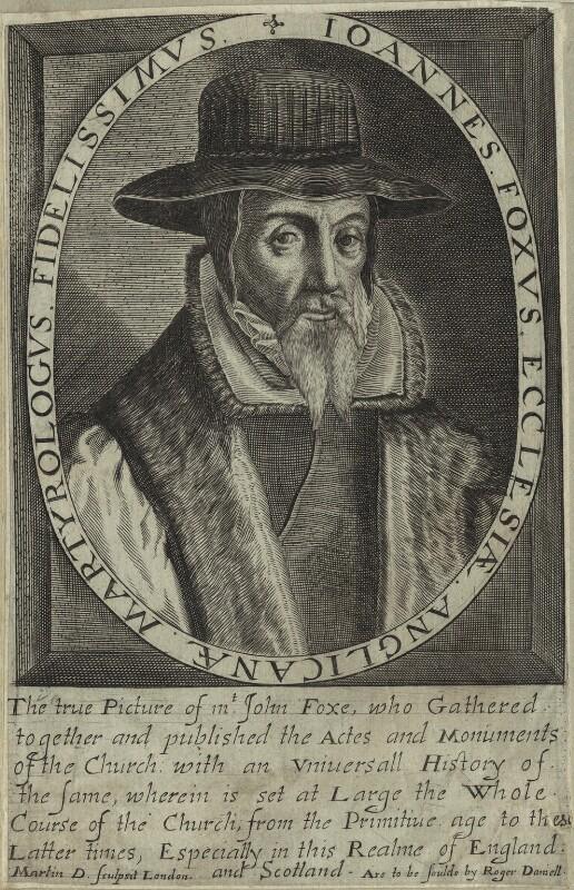 Droeshout engraving 02 Foxe - First Folio Droeshout engraver