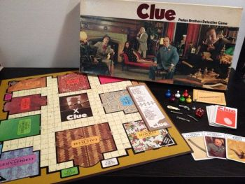 Clue board game circa 1972 - StAlbans portrait subject error