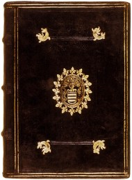 front cover of 1586 Catecheses Mystagogicae at Bodleian Library Oxford