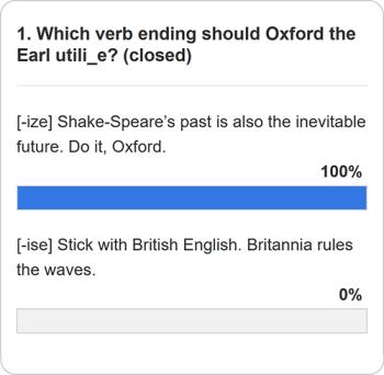 Verb ending poll question 1