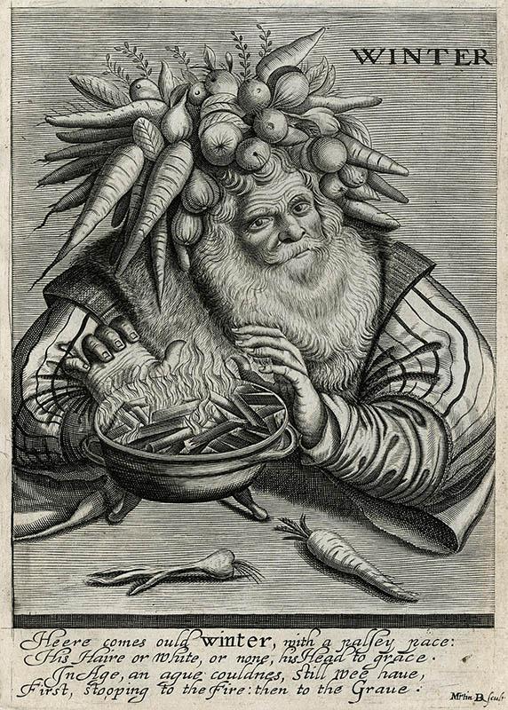 Droeshout - Winter, lots of parsnips