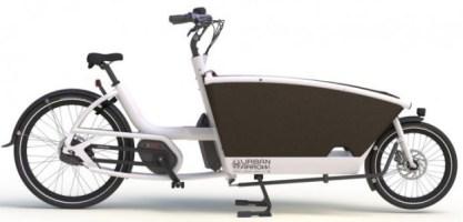 Urban Arrow cargo bike family model 2015