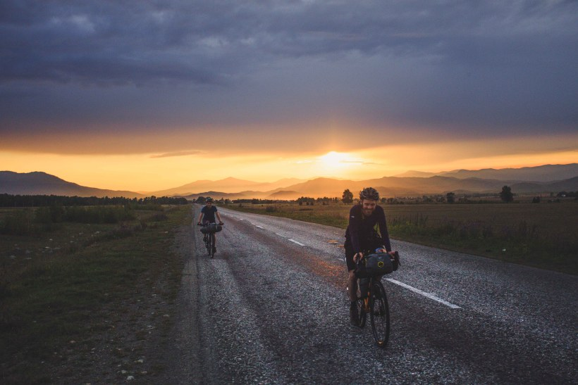 Adventures in Altay, ride into the sunset