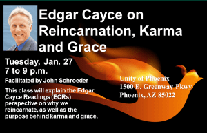 Edgar Cayce on Reincarnation, Karma and Grace