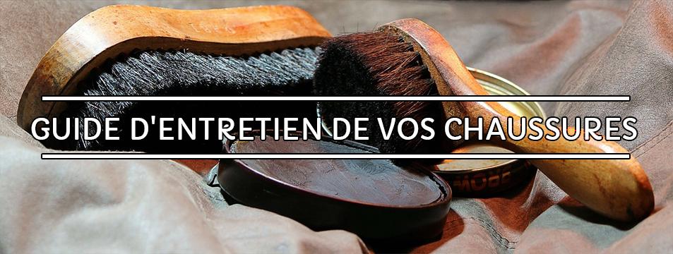 Guide d'entretien des chaussures en cuir