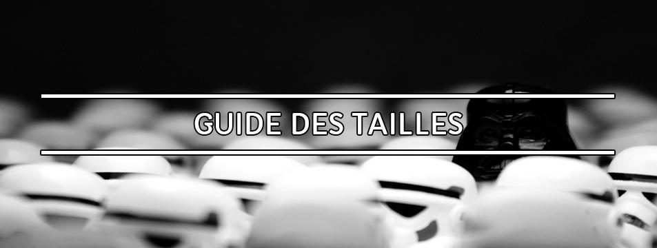 Guide des tailles de chaussures et de vêtements et leur équivalence