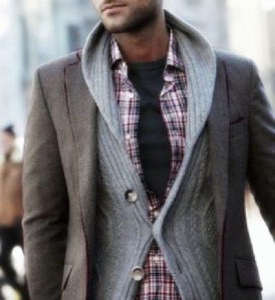 superposition vêtements homme mince