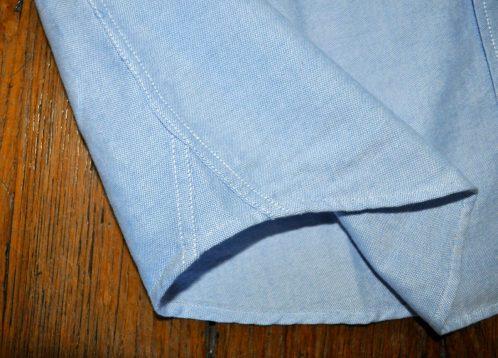 hirondelles de renfort chemise Oxford pour homme de la marque drapeau noir