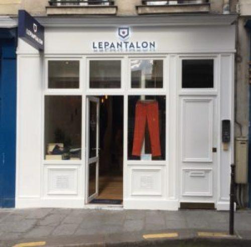 vitrine boutique le pantalon pour trouver un chino