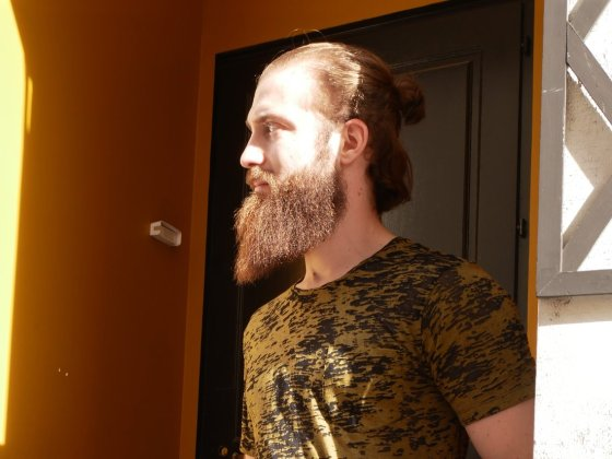 prendre soin de sa barbe Edgard L'élégant