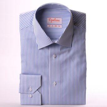 chemise selon son budget motif rayure marque opalona