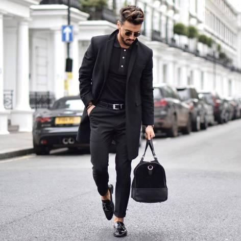 comment s'habiller à un premier rendez-vous tenue full black