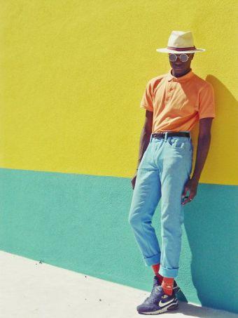 les couleurs tendances de l'été 2017 pour les hommes