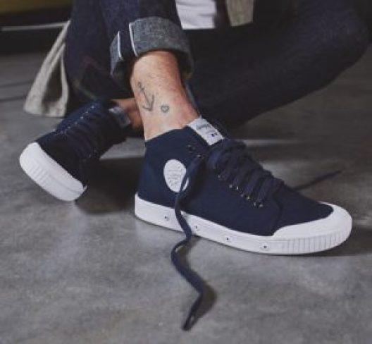 les sneakers de ville Springcourt en toile