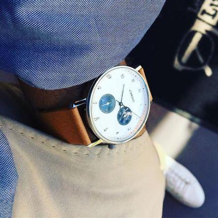 comment bien choisir sa montre plate pour homme Komono