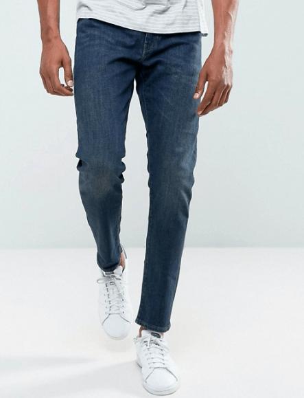 Le guide pratique du jean pour homme coupe de jean semi-slim
