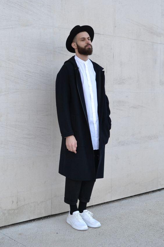 Le look à la parisienne : c'est quoi ? minimaliste créatif artiste homme