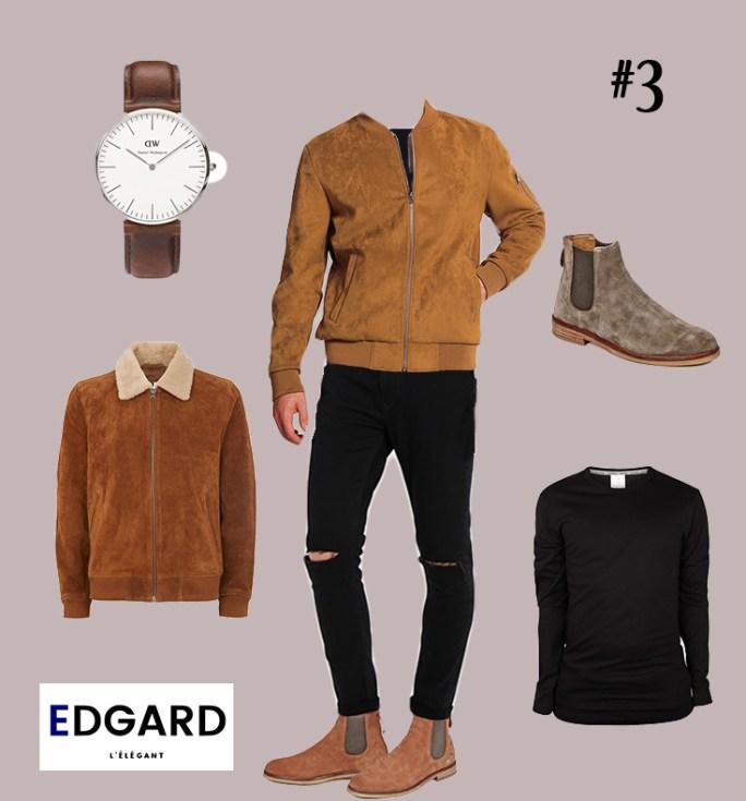 tenue homme idée de look Edgard