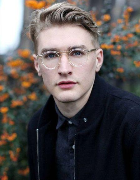 comment bien choisir ses lunettes selon son visage ? visage ovale lunette homme style
