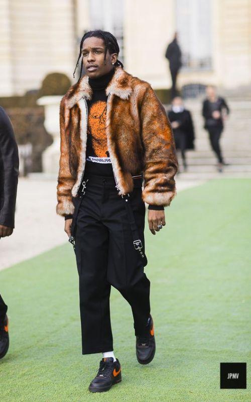 Stylé comme une star : À qui ressemblez-vous ? Asap Rocky chanteur rappeur rap artiste musique style stylé tendance mode fashion street fashionweek