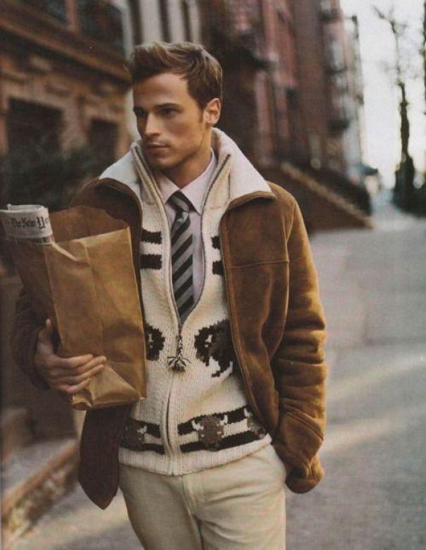 le style casual de mi-saison esgard lélégant style homme grand froid tendance hiver