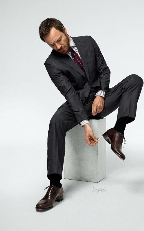 Style comme une star : À qui ressemblez-vous ? homme tendance chic workwear fashion men artiste acteur michael fassbender