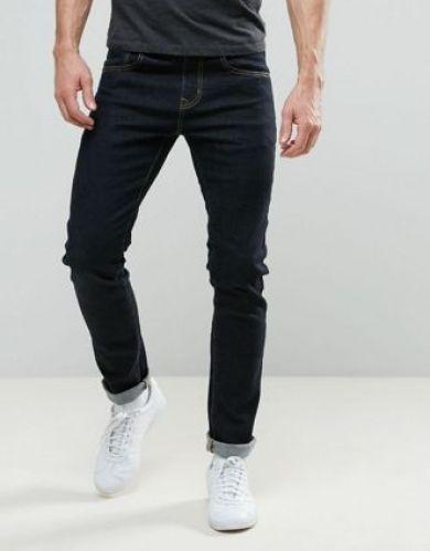 tenue homme jean brut slim