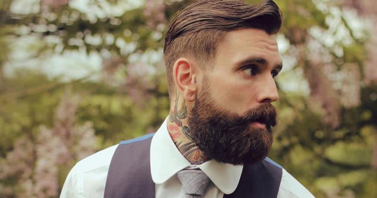 kit entretien de la barbe pour homme