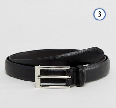 tenue homme ceinture noir