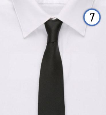 tenue homme cravate noir