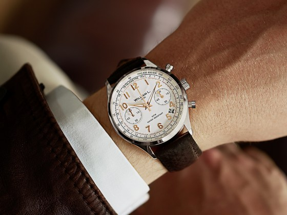 montres william L. 1985 homme chronographe
