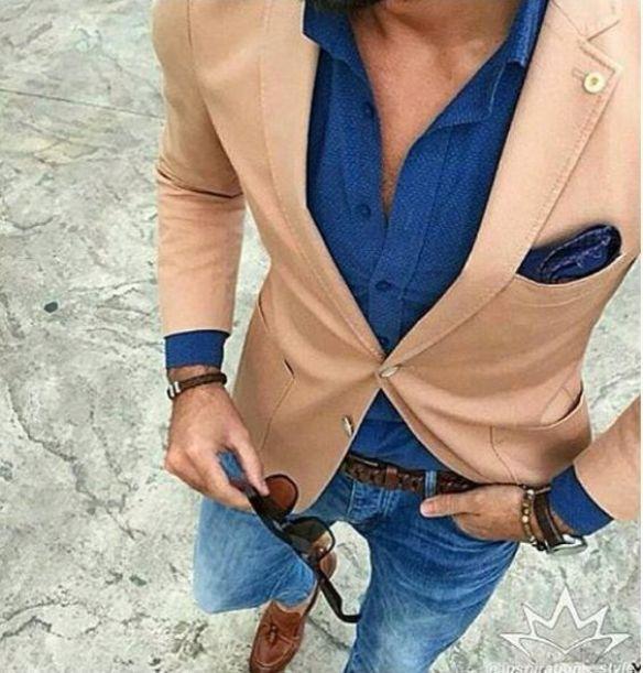 blazer marron