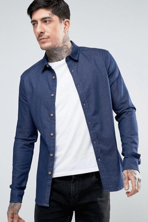 les soldes 2018 chemise en jean