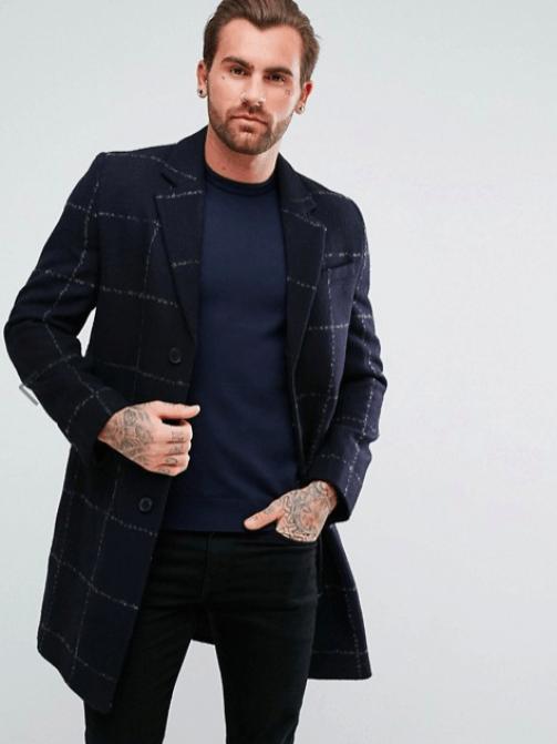 les soldes 2018 manteaux à carreaux