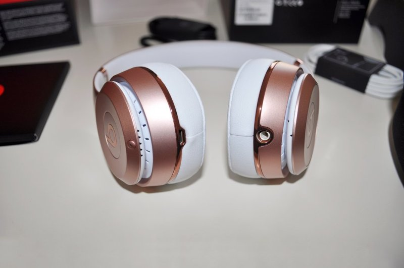 test du casque Beats solo 3 by dre or rose