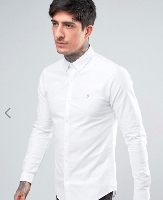 look pour homme chemise farah