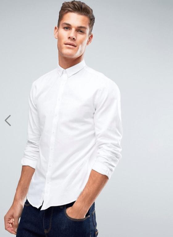 idée de look pour homme avec chemise blanche travail