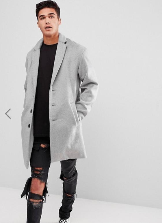 idée de look pour homme avec manteau