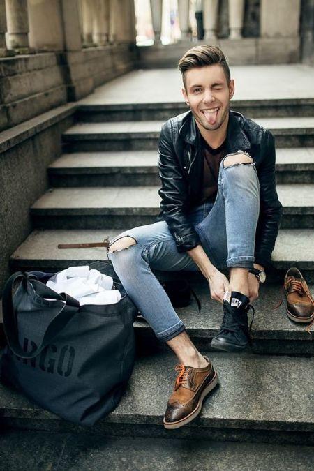 Sortie de soirée : guide des tenues pour hommes menswear men style tendance look anticipation shoe conseil guide