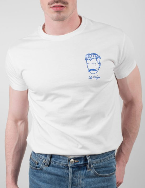 t-shirt blanc made in france pour homme