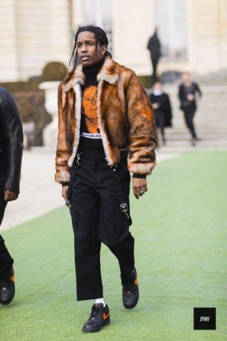 les 10 hommes les plus stylés du monde Asap Rocky