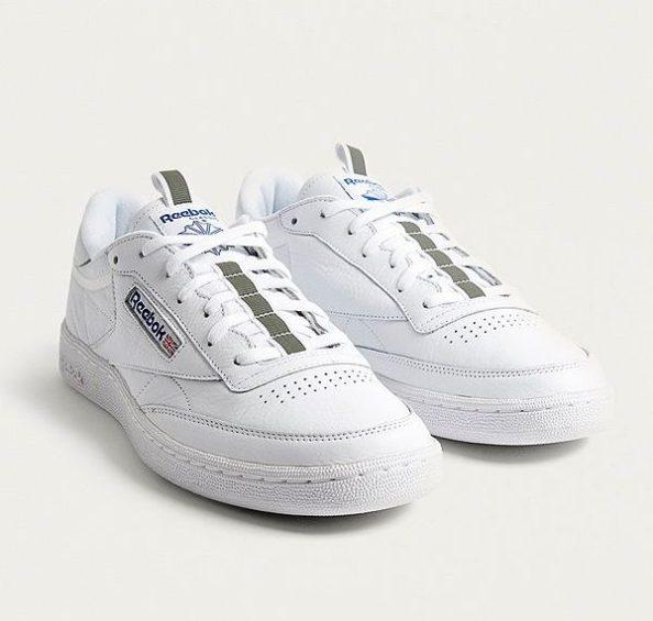 idée de look homme sneakers vintage reebok