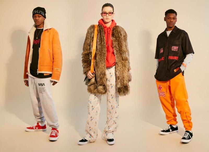 Top 5 marques créateurs du moment Heron Preston vêtements streetwear