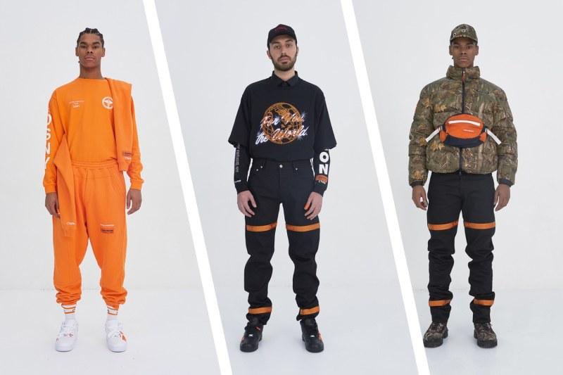Top 5 marques créateurs streetwear du moment Heron Preston