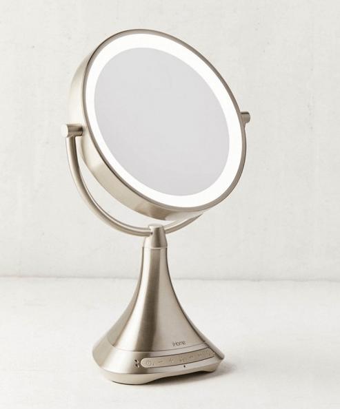 un miroir avec enceinte idée cadeau fête des mères