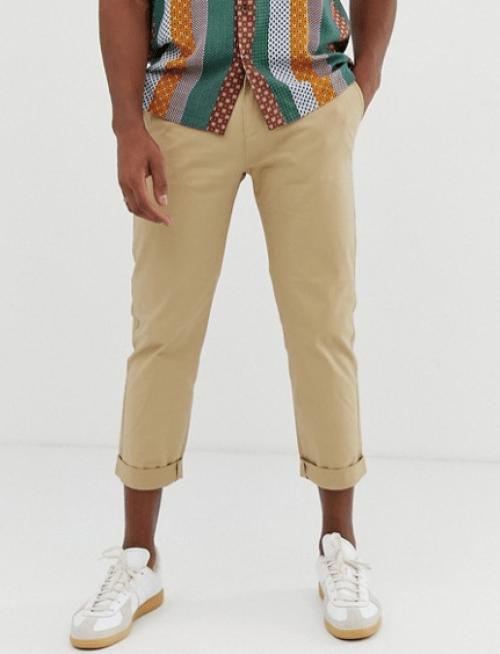 Pantalon beige Celio idée look marin