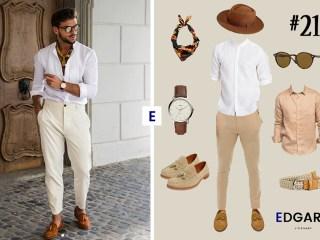 tenue Homme : idée look de la semaine 21