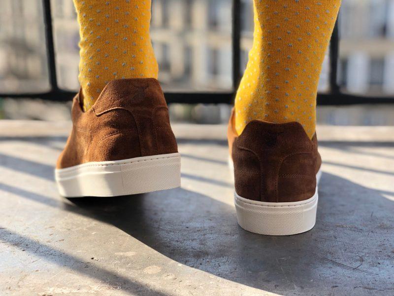 talon de la chaussure Pied de Biche