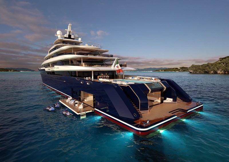 Yacht de luxe colombus
