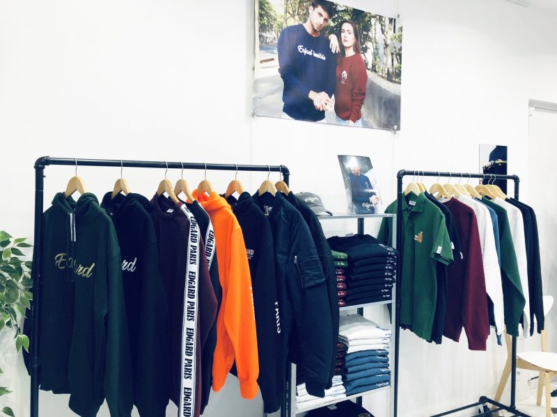 POP UP nouvelle collection Edgard Paris créateur français